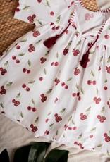 Meia Pata Meia Pata BEACH DRESS Cherries