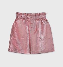 Mayoral Mayoral  Metallic skirt girl pink