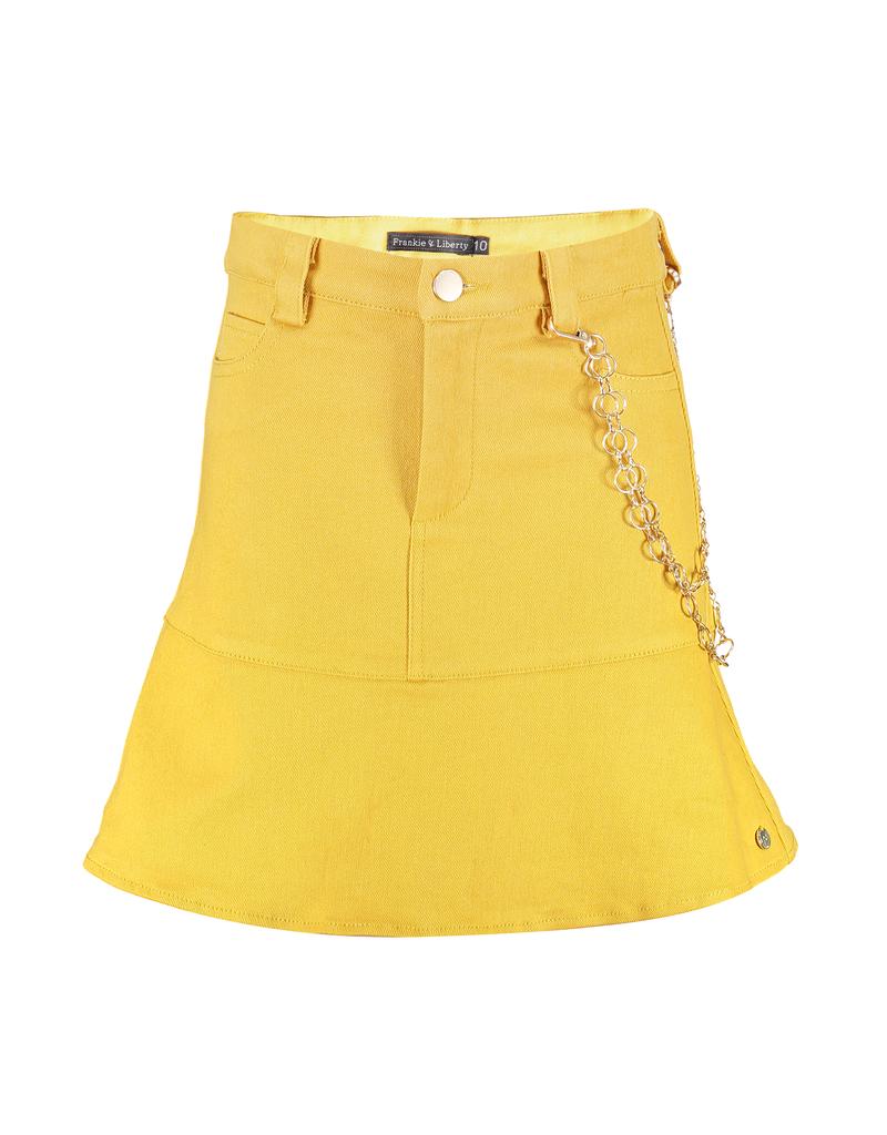 Frankie&Liberty Frankie&Liberty Sterre Skirt 26 OLIVE - FL21110