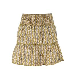 Frankie&Liberty Frankie&Liberty Sima Skirt PRINT OLIVE BIRDS - FL21250