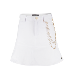 Frankie&Liberty Frankie&Liberty Sterre Skirt 01.1 PAPER WHITE - FL21110