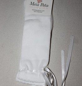 Meia Pata Meia Pata Kneesocks Dowel With Satin Wire 01 White