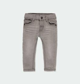 Boboli Boboli Denim stretch trousers for baby boy GREY 390002-21