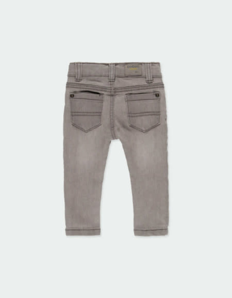 Boboli Boboli Denim stretch trousers for baby boy GREY 390002-21