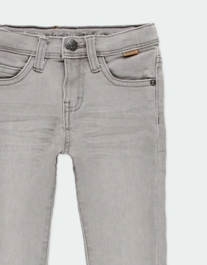 Boboli Boboli Denim stretch trousers for boy GREY 590048-21