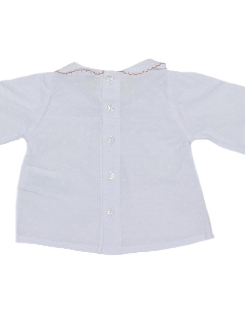 Dr Kid Dr Kid Blouse (Newborn) 246-Rosa Velho-DK106