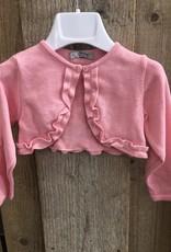 Dr Kid Dr Kid Baby Girl Short Cardigan 240-Rosa-DK326