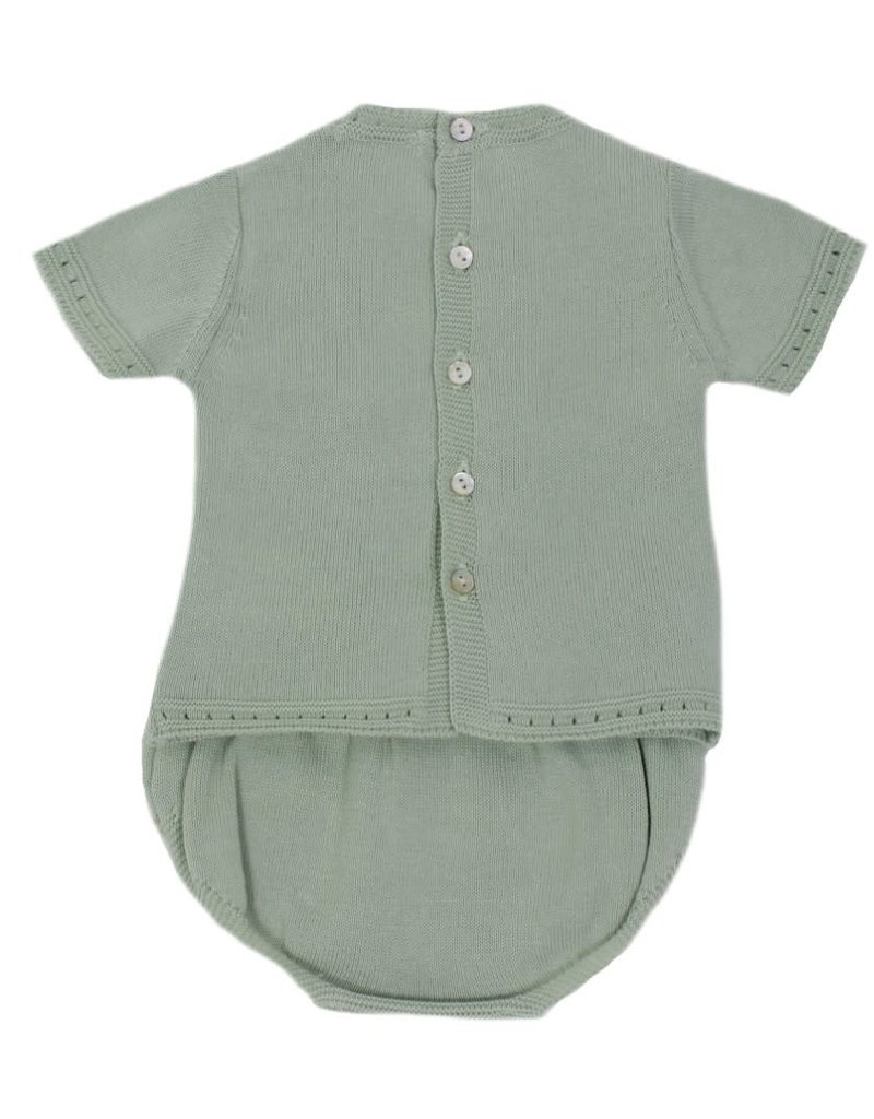Dr Kid Dr Kid Set (Newborn) 133-Verde Água-DK230