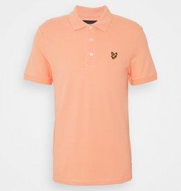 Lyle&Scott Lyle&Scott Classic Polo Shirt Pumpkin Pumpkin - LSC0145S-044