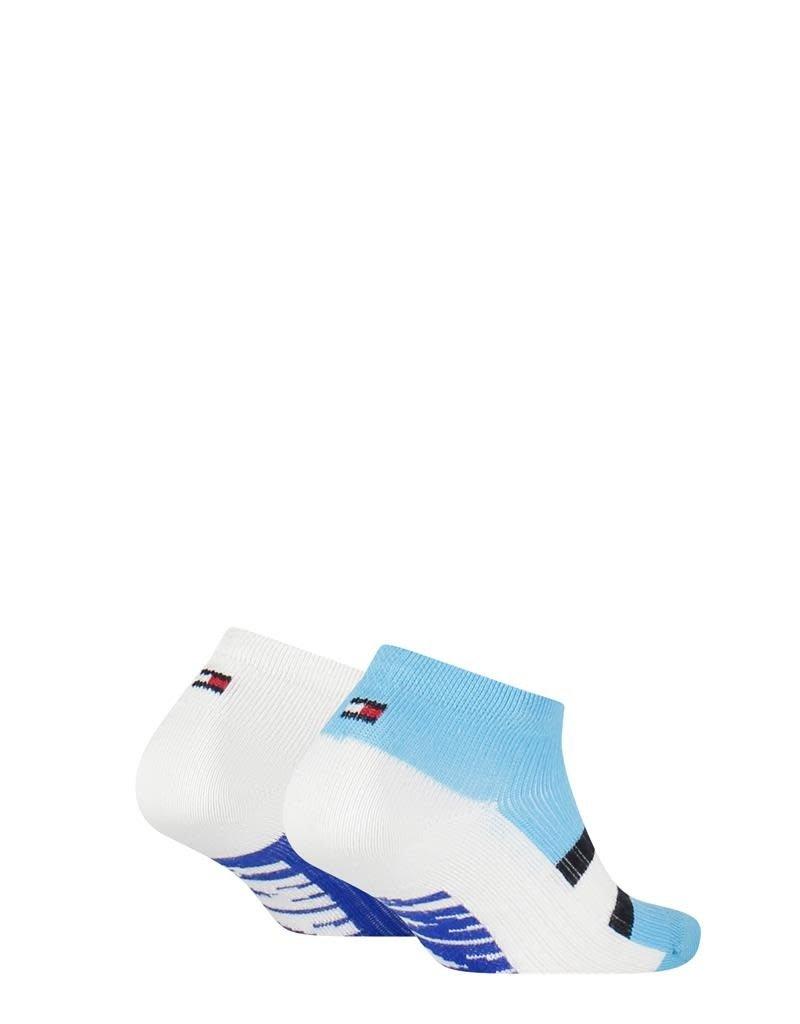 Tommy Hilfiger Tommy Hilfiger Sneaker lichtblauw /wit 2 paar