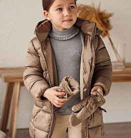 Mayoral Mayoral Coat with mittens Root - 21 04441