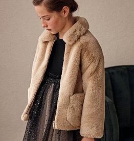 Mayoral Mayoral Fur coat Beige - 21 07432