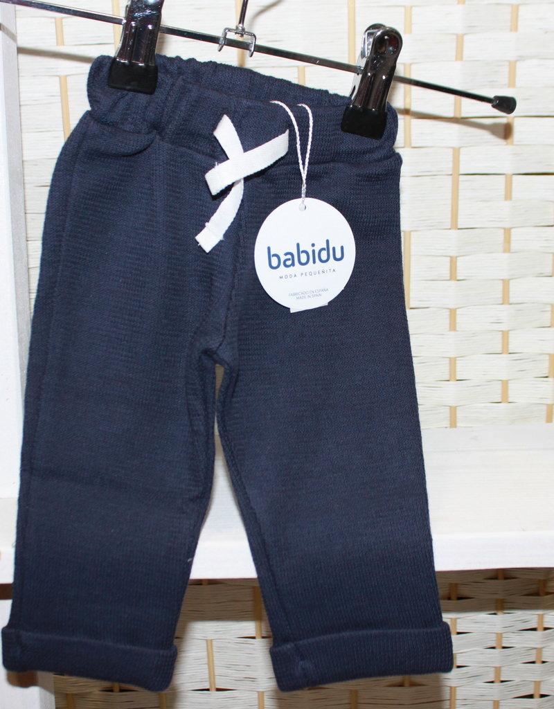 Babidu Babidu TROUSER NAVY-33365