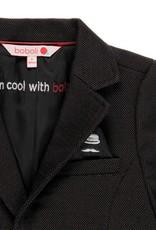 Boboli Boboli Knit blazer fantasy for boy BLACK 731089