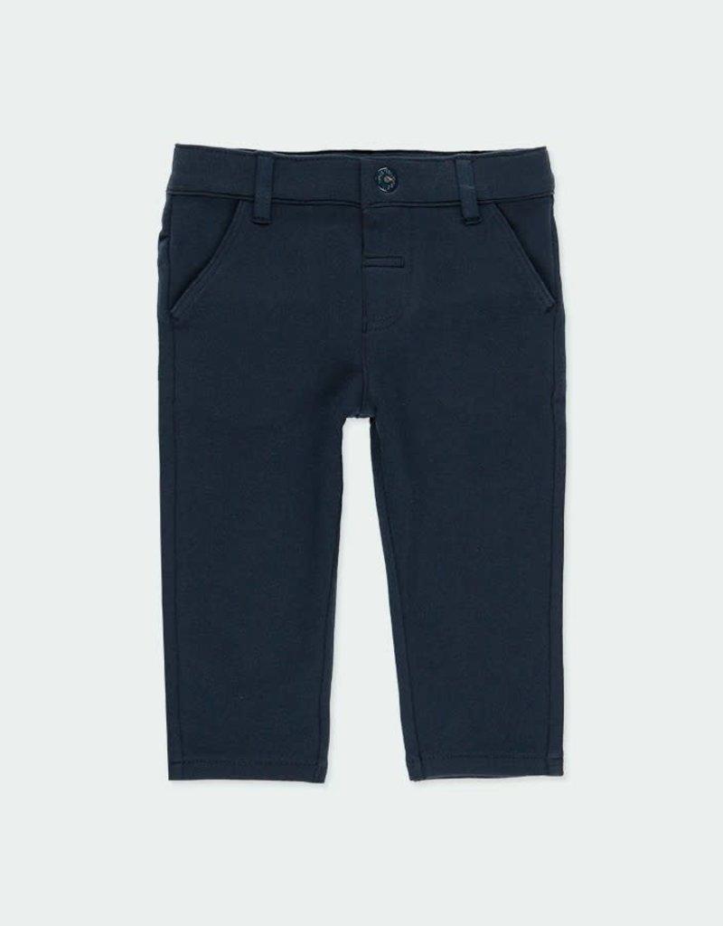 Boboli Boboli Stretch fleece trousers for baby boy NAVY 710008
