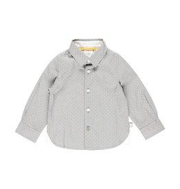 Boboli Boboli Poplin shirt polka dot for baby boy print 713090