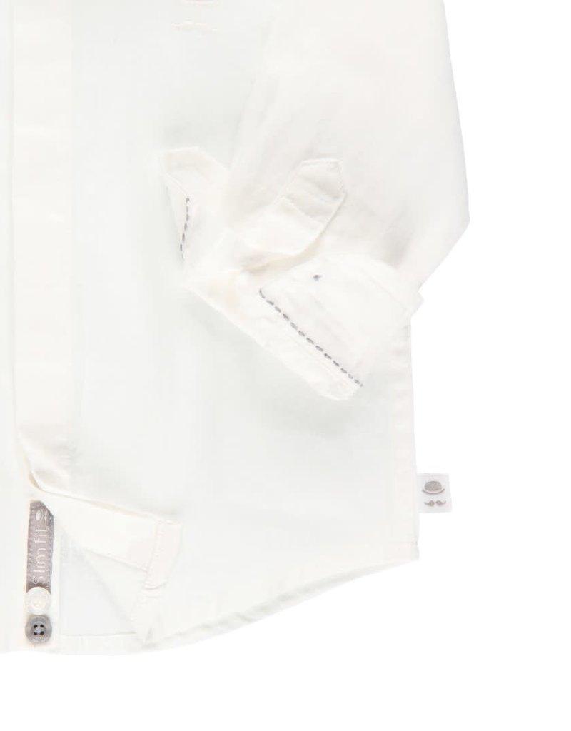 Boboli Boboli Shirt for baby boy WHITE 713001