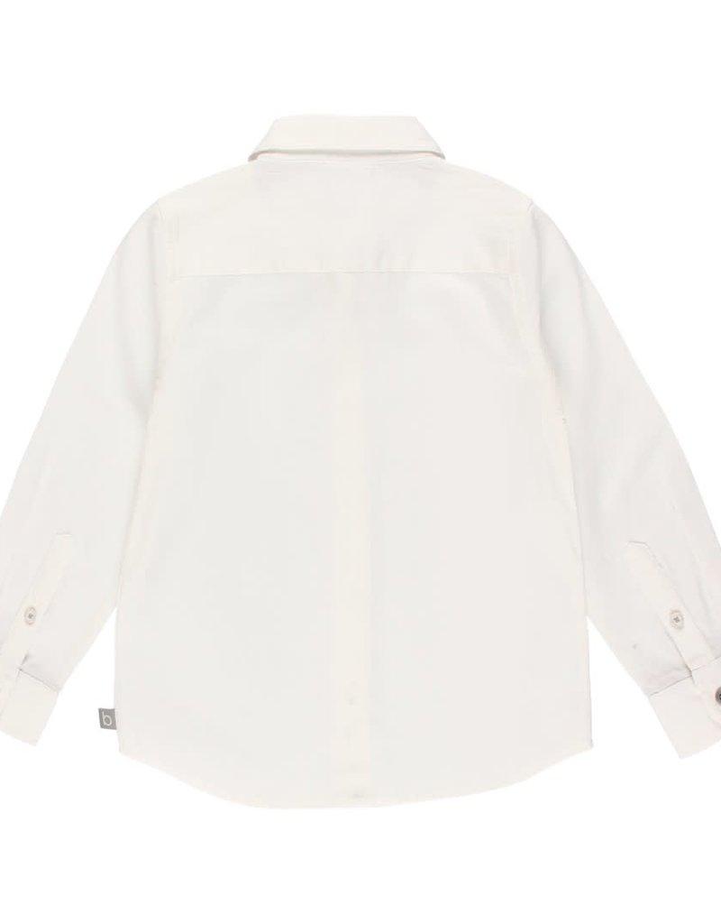 Boboli Boboli Shirt fantasy for boy WHITE 733003