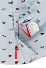 Boboli Boboli Oxford long sleeves shirt for baby boy print 713157