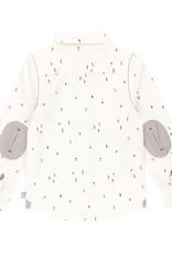 Boboli Boboli Poplin shirt printed for boy print 733160