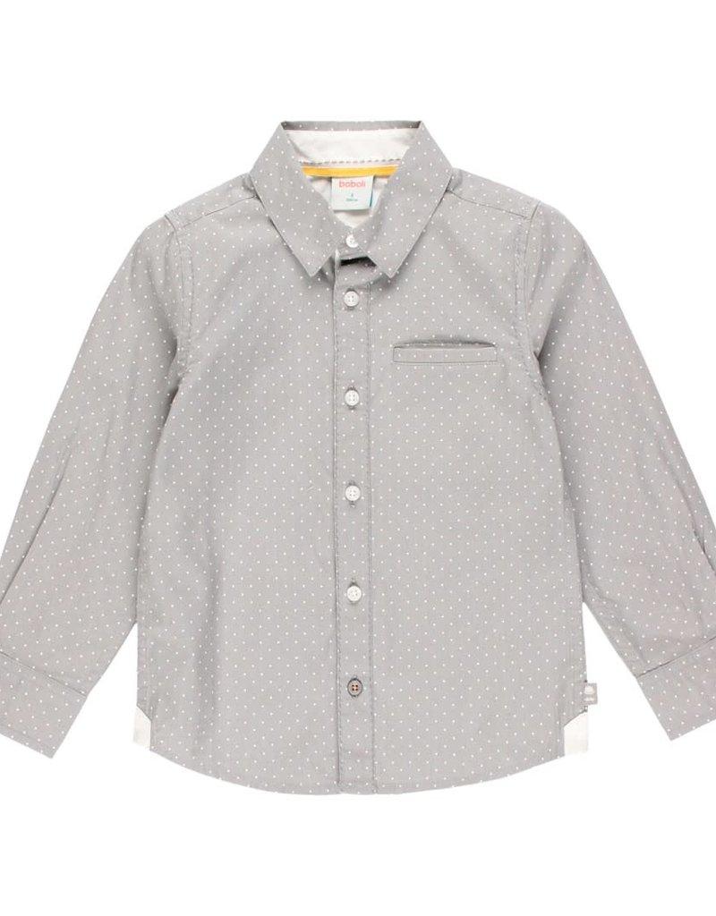 Boboli Boboli Poplin shirt polka dot for boy print 733171