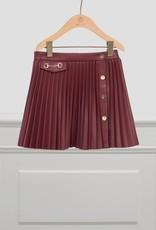 Abel & Lula Abel & Lula Pleated skirt Maroon - 21 05502
