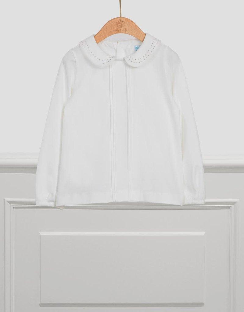 Abel & Lula Abel & Lula Shirt Off White - 21 05615