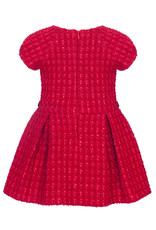 Ballon Chic Balloon Chic  Dress red whith gold button