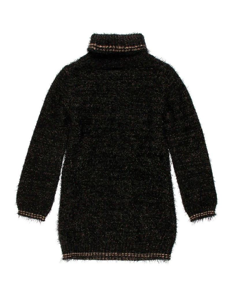 Boboli Boboli Knitwear dress for girl BLACK 723024