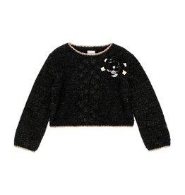 Boboli Boboli Knitwear pullover for girl BLACK 723035
