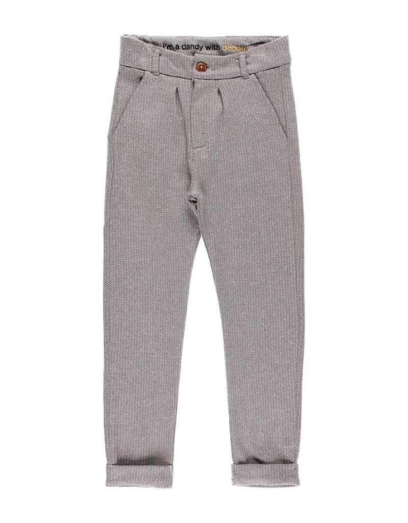 Boboli Boboli Knit trousers for boy lead 733193