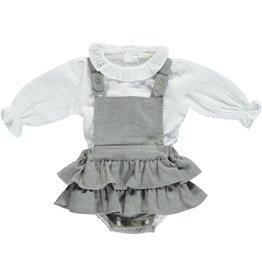 Deolinda Deolinda Dress set grey