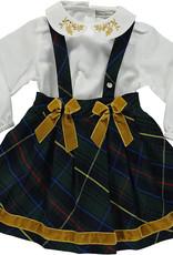 Piccola Speranza Piccola Speranza dress  blue/yellow