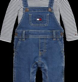 Tommy Hilfiger Tommy Hilfiger Baby 2-Piece KN0KN013820A4 Navy White Stripe