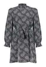 Frankie&Liberty Frankie&Liberty Abby Dress BLACK - WHITE PATTERN-FL21734