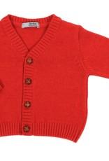 Dr Kid Dr Kid Baby Boy Cardigan 160-Vermelho-DK14