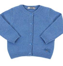 Dr Kid Dr Kid Baby Girl Cardigan 108-Azul Medio-DK11