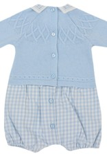 Dr Kid Dr Kid Romper (Newborn) 105-Azul Bebé-DK112