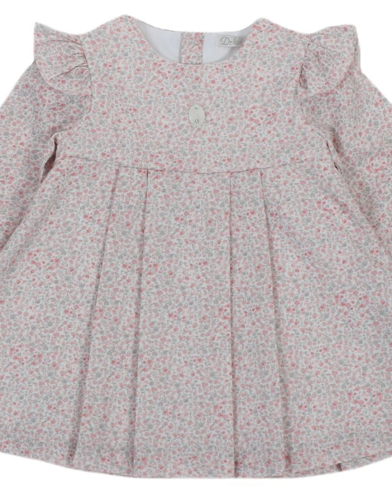 Dr Kid Dr Kid Dress (Newborn) 246-Rosa Velho-DK126