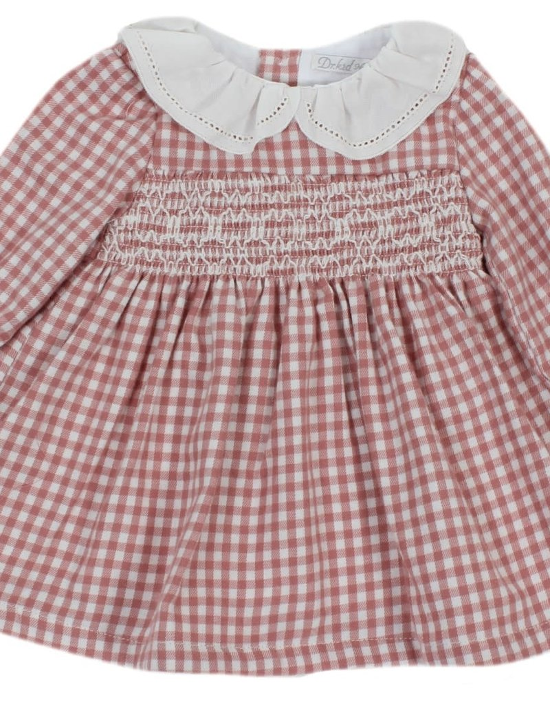 Dr Kid Dr Kid Dress (Newborn) 255-Rosa Escuro-DK144