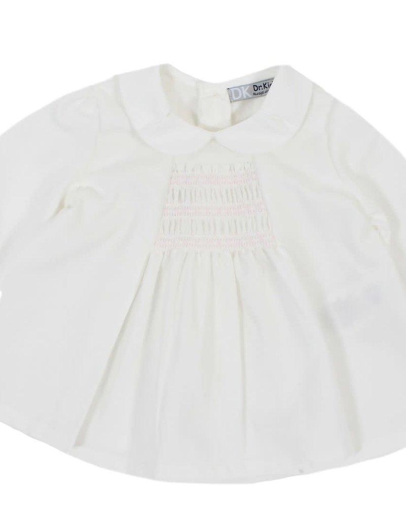 Dr Kid Dr Kid Baby Girl Blouse 251-Rosa Claro-DK324