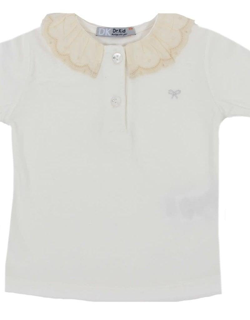 Dr Kid Dr Kid Baby Girl Sweater 020-Meio Branco-DK348