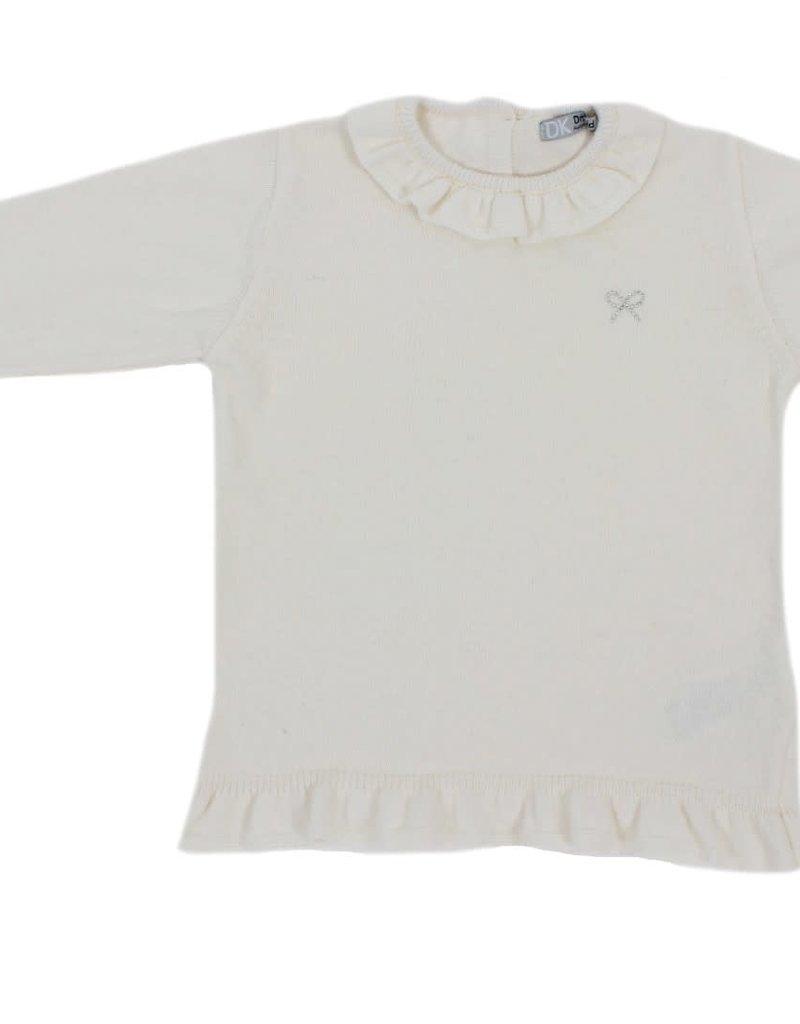 Dr Kid Dr Kid Girl Sweater 000-Branco-DK444