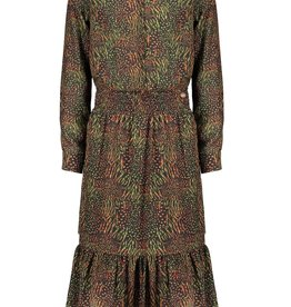 Nobell Nobell Mowgli maxi dress with smocked waist Q108-3802 Army Green
