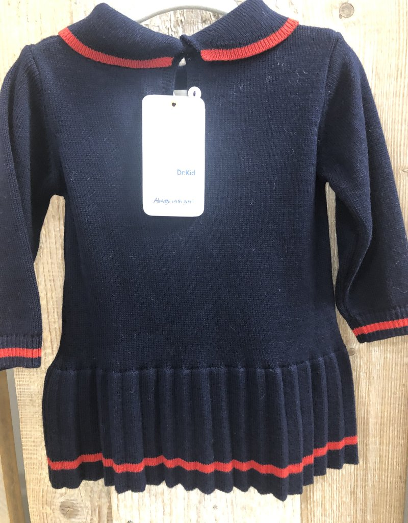 Dr Kid Dr Kid Baby Girl Dress 280-Marinho-DK320