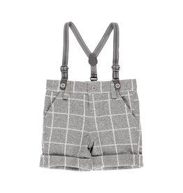 Boboli Boboli Knit bermuda shorts check for baby boy checks 713034