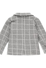 Boboli Boboli Knit blazer check for baby boy checks 713045