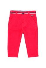 Boboli Boboli Microcorduroy trousers for baby boy berry 713012