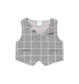 Boboli Boboli Vest check for baby boy checks 713023