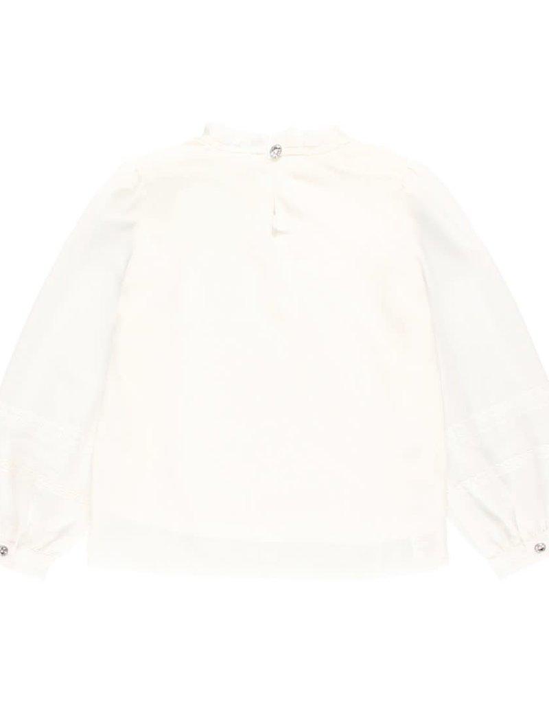 Boboli Boboli Blouse gauze for girl off white 723305
